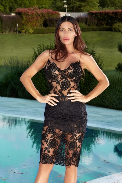 """PRECIOSSA"" Limited edition lace dress"