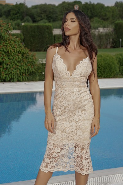 """Gina Marie"" lace dress"