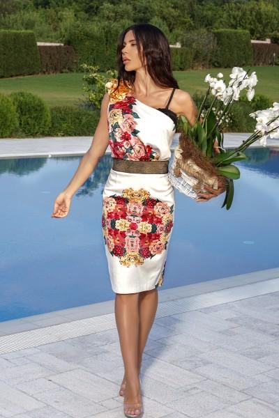 """""""Dolce colori"""" floral dress"""