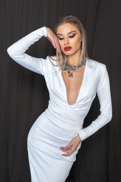 """Kasia"" dress - white"