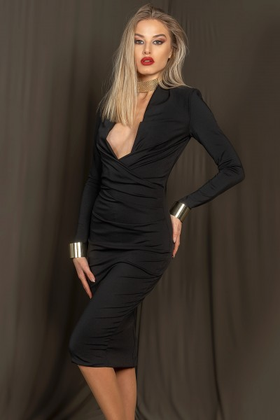 """""""Kasia"""" dress - black"""