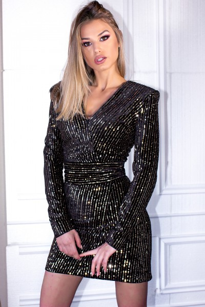 """""""Guilt Noir"""" dress"""