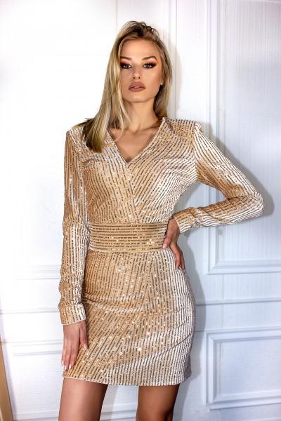 """""""Guilt Gold"""" dress"""