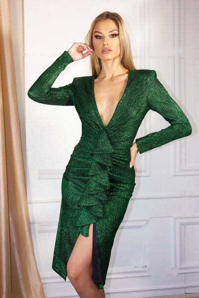 """Salute Emerald"" dress"