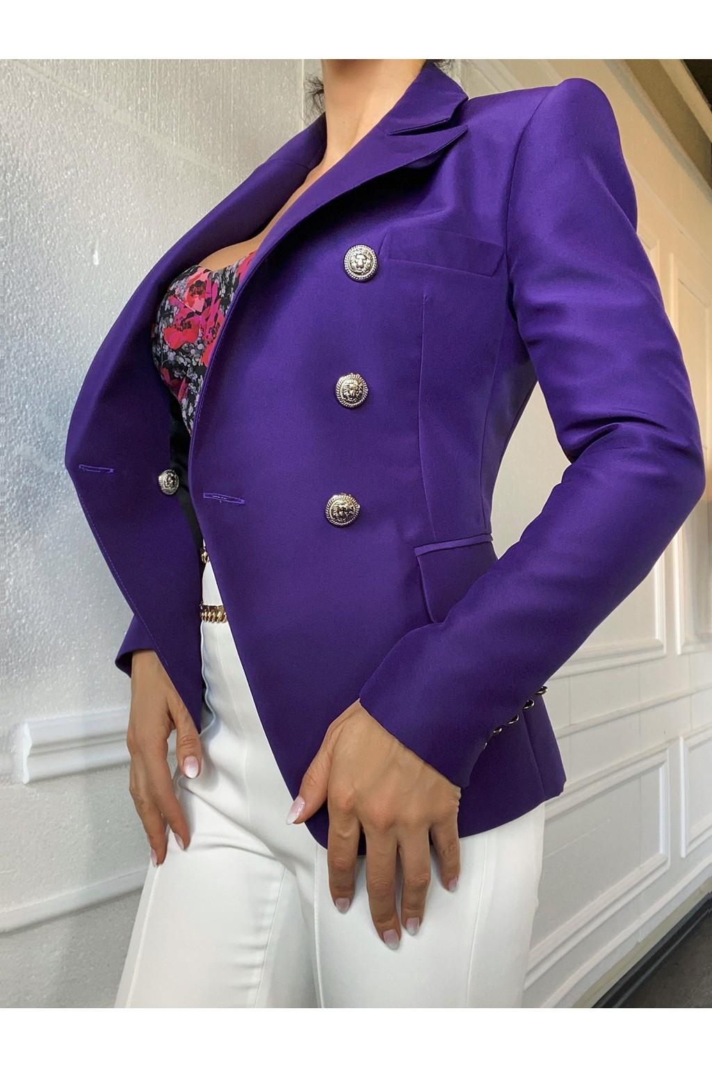 "BALM ""Purple Rain"" Blazer"