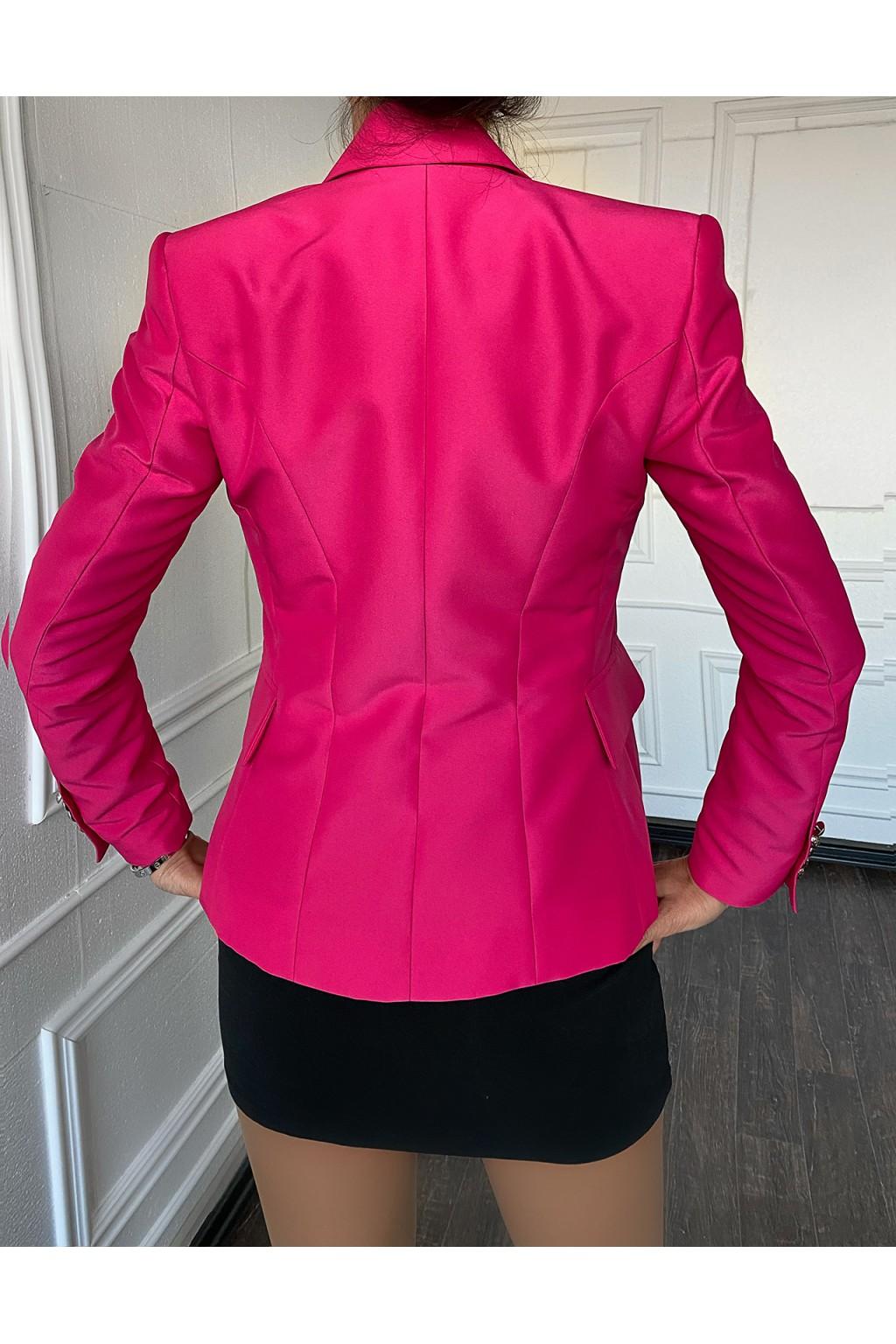 """BALM """"Hot Pink"""" Blazer"""