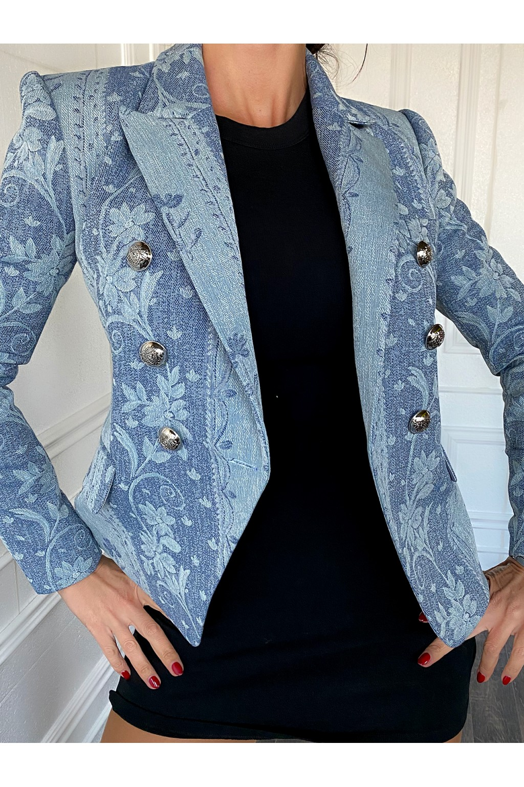 "BALM ""Liberty Denim"" Blazer"