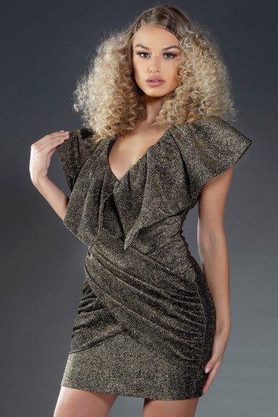 """""""Twinkle little Star"""" oversized frill dress"""