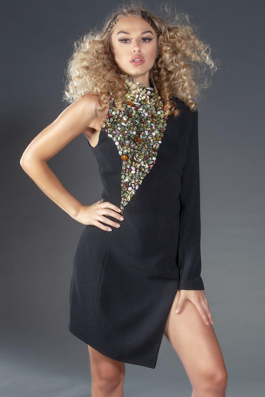 """""""Preciossa Noir"""" occasion dress"""