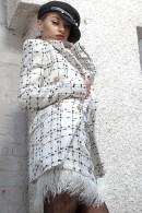 Ingrid Blazer boucle double breasted blazer
