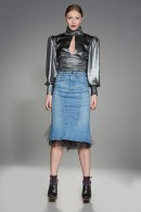 """Shape"" bodycon denim skirt"