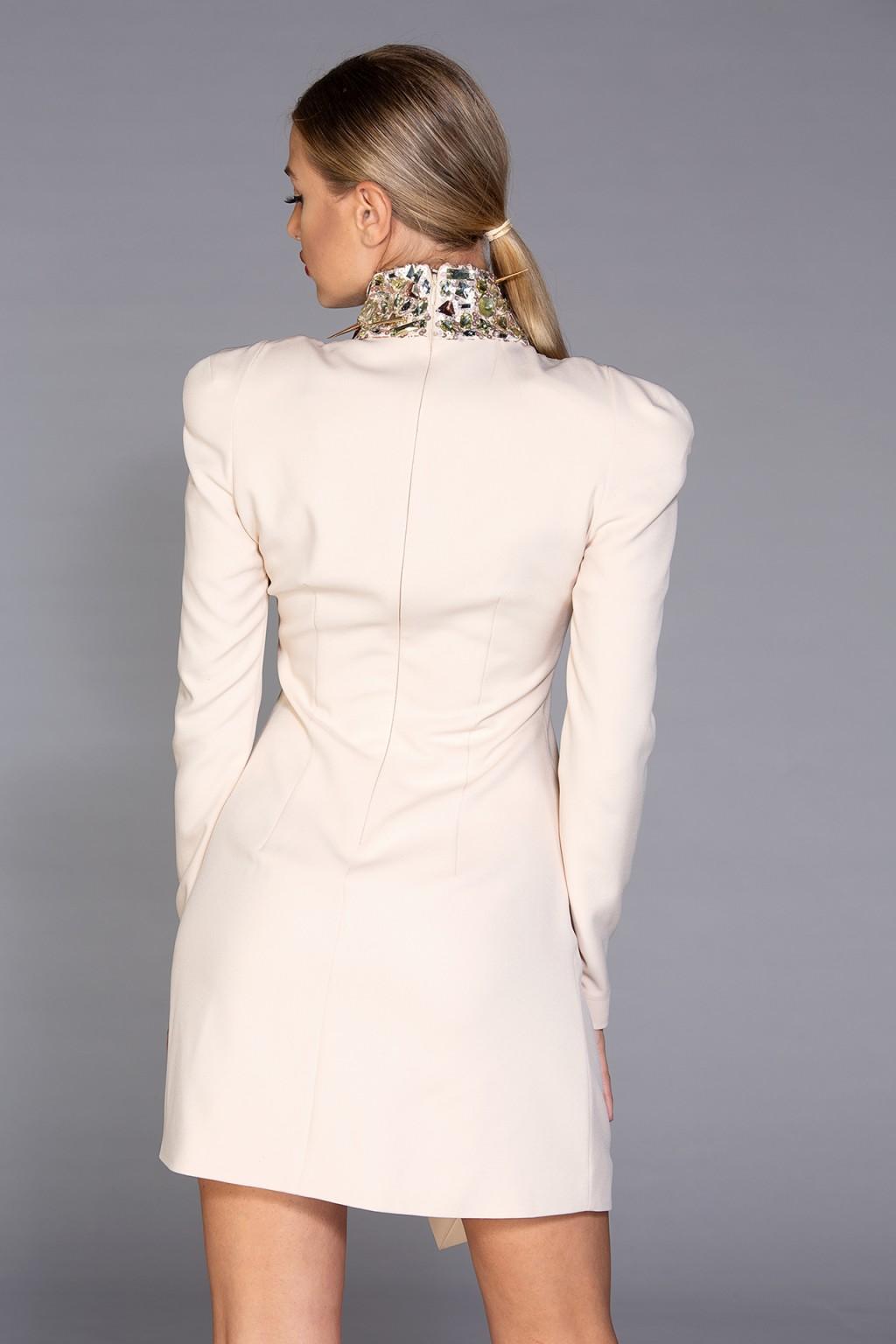 """My Precious"" embellished mini dress"