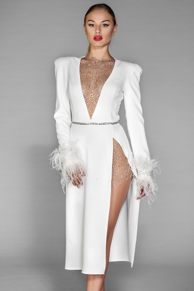 Sensualite Dress white formal dress